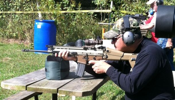 Dave with FN SCAR