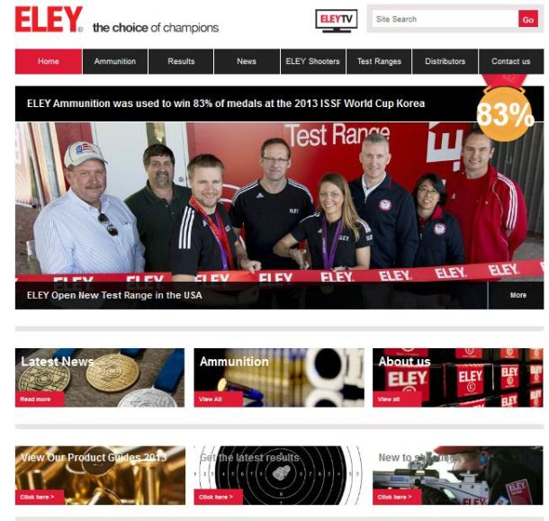 eley home page