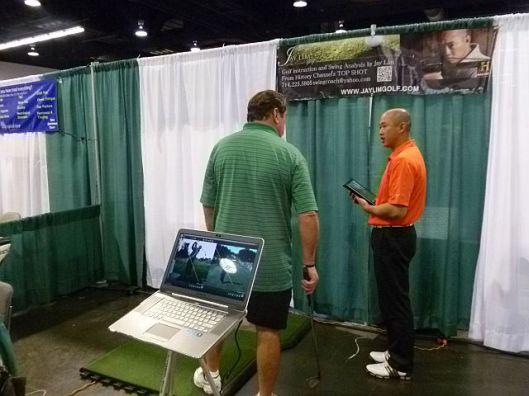 Jay Lim at Anaheim Golf Show