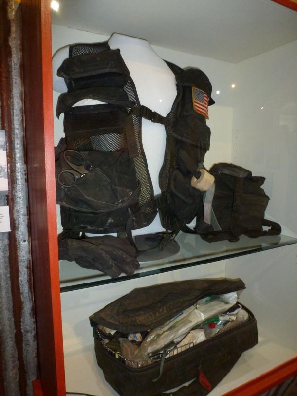 Combat medics vest from the Battle of Magadishu