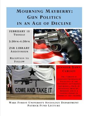 Jennifer Dawn Carlson on Gun Politics in America