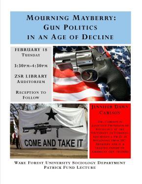 Jennifer Dawn Carlson on Gun Politics inAmerica