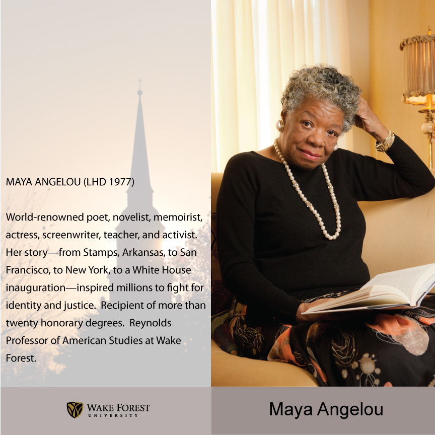 essay graduation maya angelou Maya angelou's the graduation 1596 words   7 pages maya angelou's the graduation throughout life we go through many stepping stones, maya angelou's autobiographical essay graduation, was about more than just moving on to another grade.