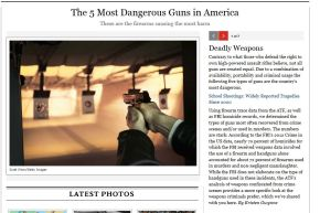 Rolling Stone's Coverage of Guns in America: With Friends Like These. ..