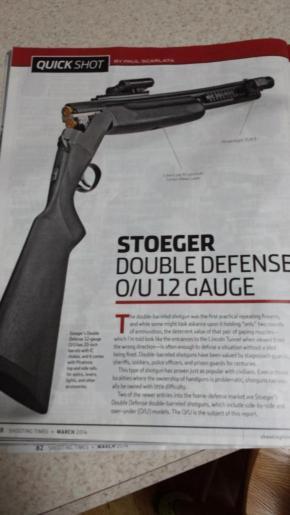 The Joe Biden Tactical DefenseShotgun