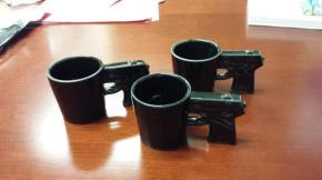 The Materiality of Gun Culture, Part 2: Semi-Auto Espresso Cups
