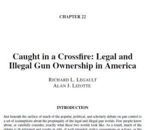 On Legal and Illegal Gun Ownership inAmerica