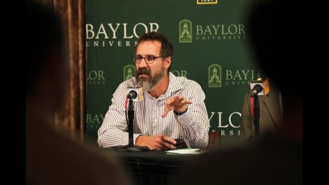 Photo of Paul Froese courtesy of Baylor University Media Communications