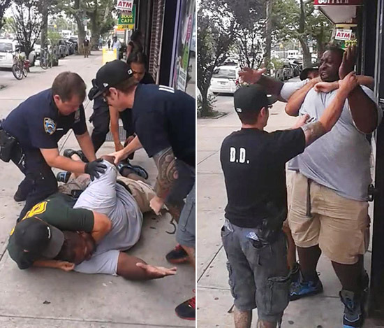 Microsociology of Death of Eric Garner: 27 Seconds of Choking by Jooyoung Lee