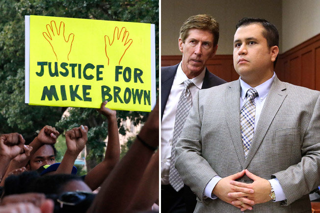 Darren Wilson, George Zimmerman, and Justifiable Homicide (and Stand Your Ground Laws)