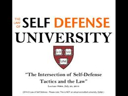 law of self defense university