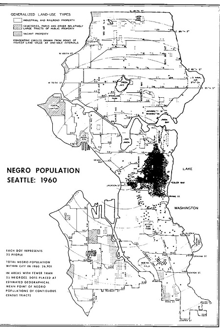 Neighborhood Racial Composition and Applications for Concealed Weapon Permits (Seattle, 1972)