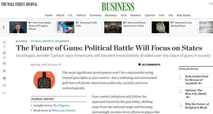 Carlson Future of Guns