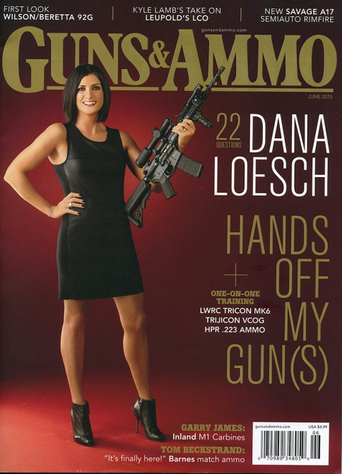Dana Loesch Guns and Ammo Cover