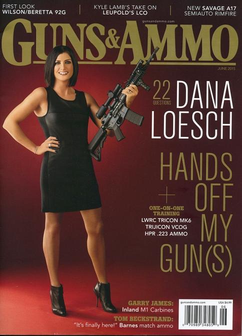 Dana Loesch Guns and Ammo Cover