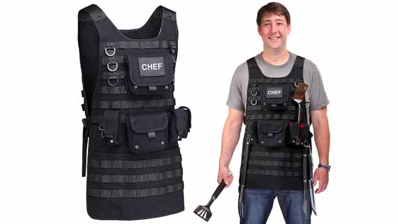 http://www.incrediblethings.com/lists/chef-of-police-a-tactical-bbq-apron/