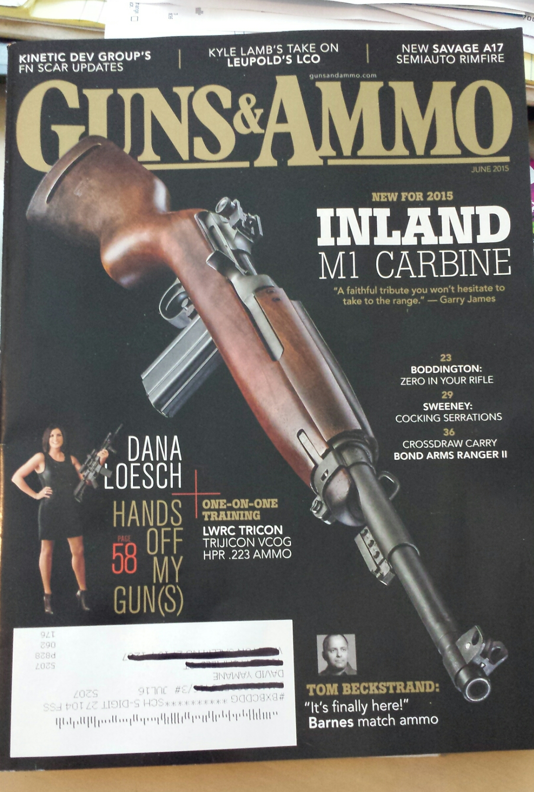 First Woman in 54 Years to Appear on Cover of Guns & Ammo: Good and Bad   Gun Culture 2.0