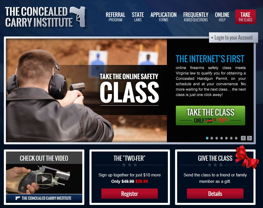 "Skirting"" the North Carolina Concealed Carry Permit Course ..."