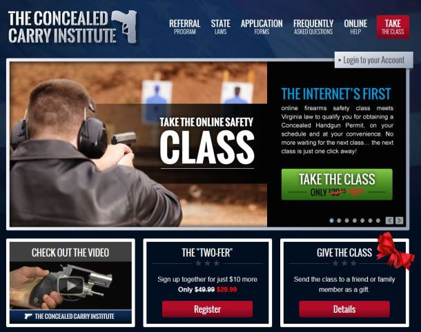 Concealed Carry Institute Home Page