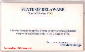 Unique Concealed Carry Permit Process in Delaware