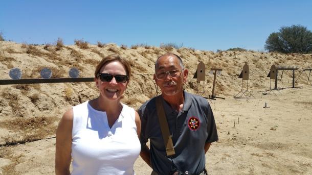 Mr. Ichiro Nagata with my wife, Sandy