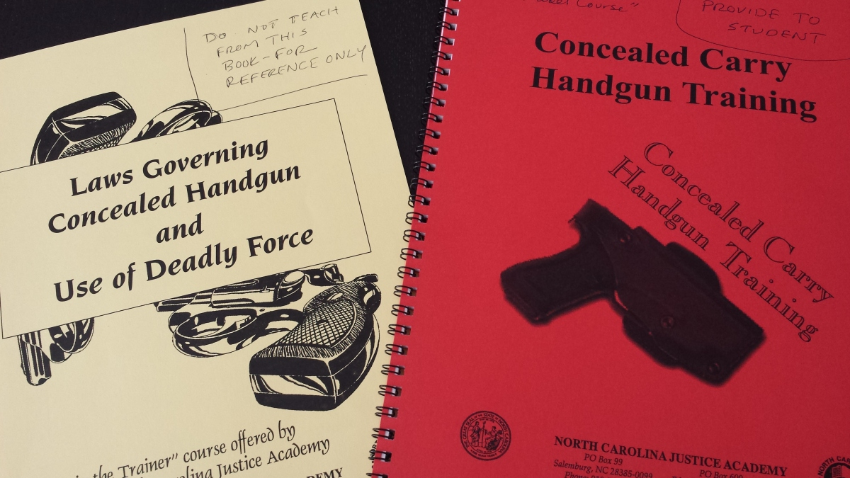 North Carolina Concealed Permit Course/Training Requirements
