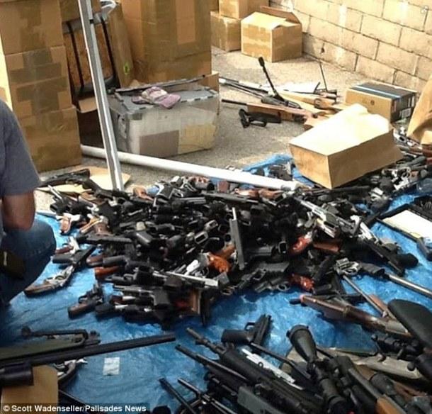 California-gun-collection