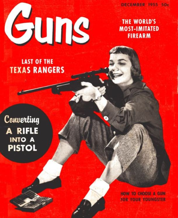 Guns Mag Cover Dec 1955