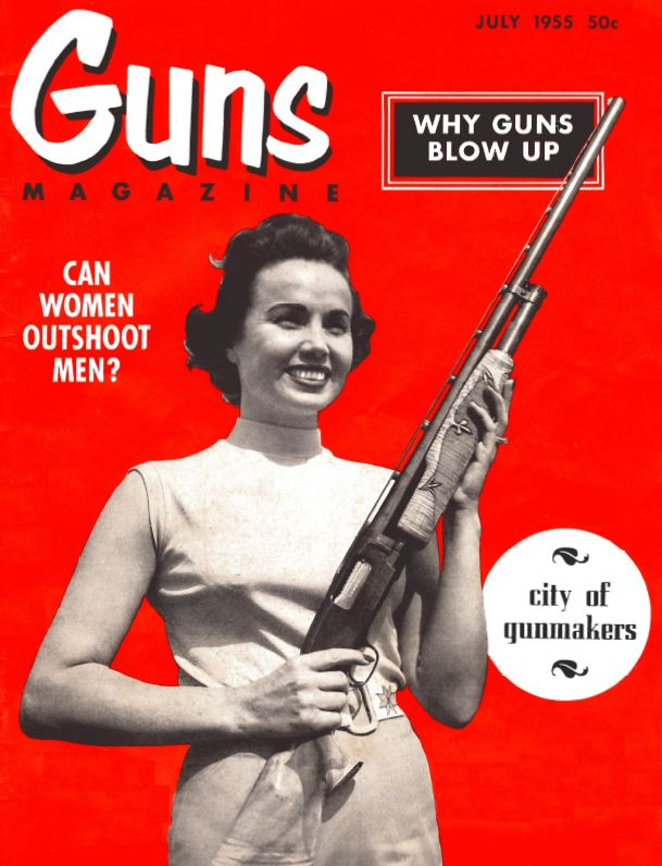 Guns Mag Cover July 1955