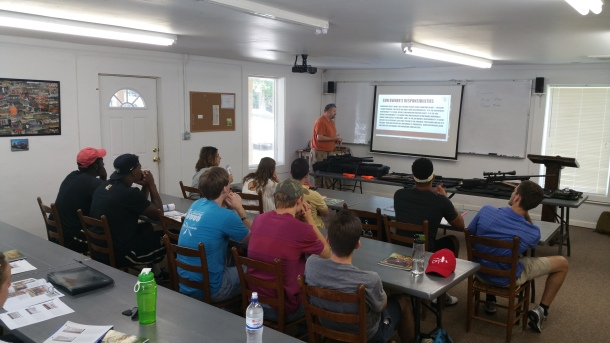 Intro to firearms class aug 15 1
