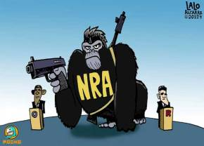 The National Rifle Association as Thousands of Spider Monkeys, Not an 800-Pound Gorilla