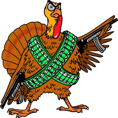 Gun-ready-cartoon-turkey