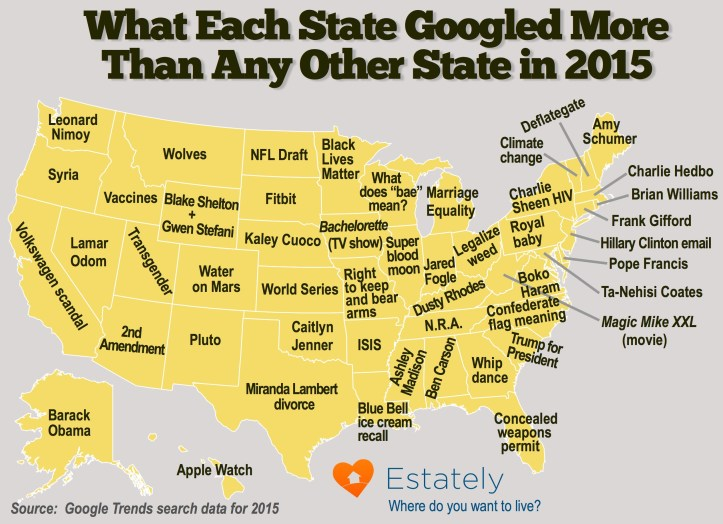 http://blog.estately.com/2015/12/what-each-state-googled-more-than-any-other-state-in-2015/