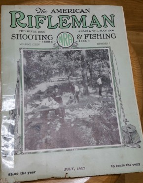 Tidbits from The American Rifleman, July 1927
