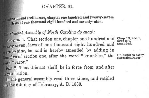 1883 Amendment to 1879 Ban