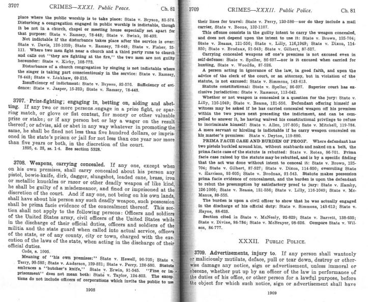 1908 Revisal of the Code