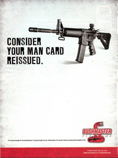 bushmaster man card