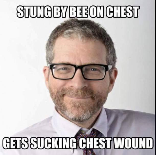 Kuntzman Chest Wound