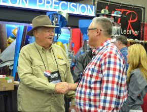 Meeting Michael Bane for the First Time at the NRA Annual Meeting
