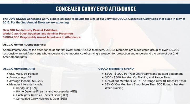 USCCA CCX Exhibitor Information