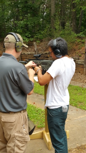 Sociology of Guns Seminar Field Trip to Gun Range