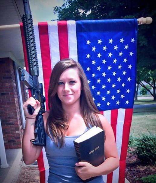 ar-bible-and-flag-lady
