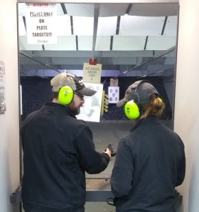 Sociology of Guns Class Field Trip to ProShots Range