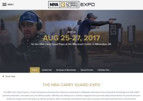 NRA Personal Protection Expo is Now the Carry Guard Expo