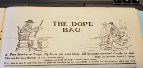 Concerning Pocket Guns, May 1928 American Rifleman Dope Bag