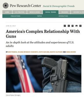 The Politics of Gun Ownership and Gun Owners – Findings from the Pew Research Center