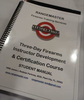 Observing Tom Givens's Rangemaster Instructor Development and Certification Course