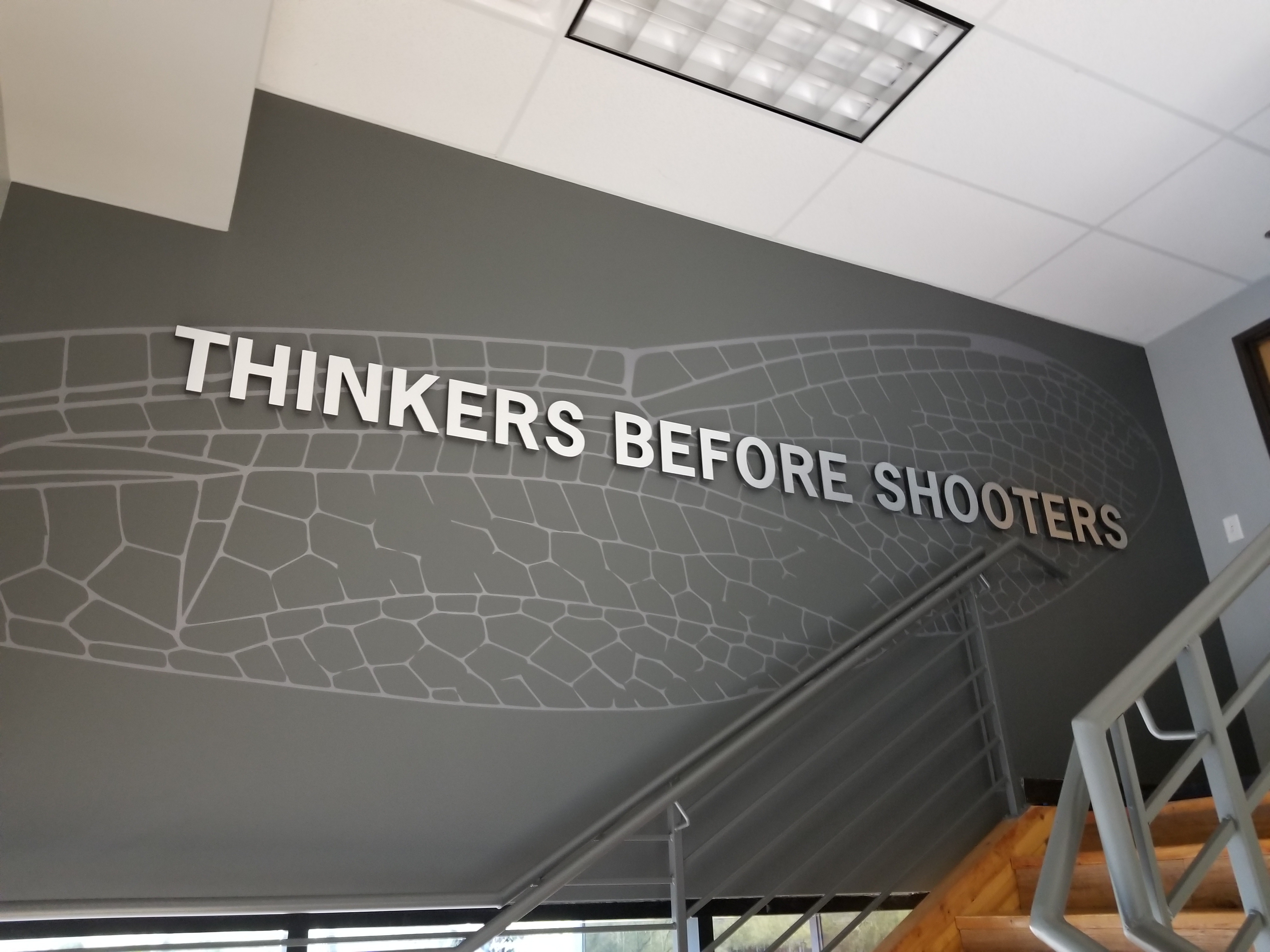 """""""Thinkers Before Shooters"""": Haley Strategic Disruptive Science Training Program"""