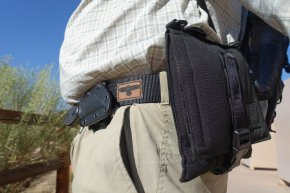 Putting the Wilderness Tactical Products Instructors Belt and Safepacker Through Their Paces