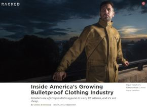 Inside America's Growing Bulletproof Clothing Industry